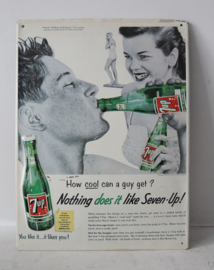 Vintage 7UP reclame bord