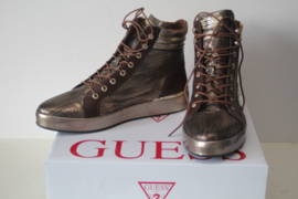Guess dames schoenen/sneakers - bronskleur - maat 40