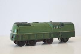 Zeldzaam -  DRP blikken locomotief met tender - Duitsland ca 1938