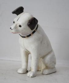 """Gietijzeren hondje ,,Nipper"""" His Masters Voice"""