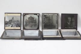 Set van 20 silde projector glaasjes van België