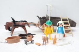 Playmobil vintage boerenkar
