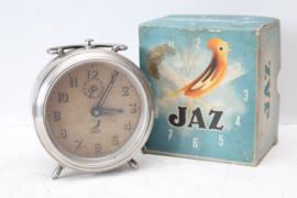 Vintage Jaz wekker in originele doos