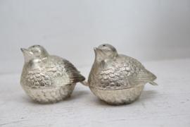 Peper en zout stel ivv musjes / vogeltjes