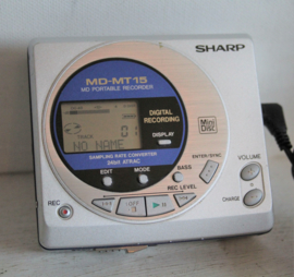 Sharp - MD-MT15 - Portable minidisc speler