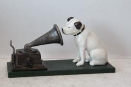 """Gietijzeren hondje ,,Nipper"""" van  ,,His Master's Voice"""""""