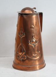 Arts & Crafts/Art Nouveau  - Joseph Sankey & Sons, klepkan