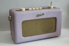 Transistorradio - Roberts Revival R250 Lila/oud roze