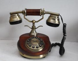 Lazerbuilt - Houten Telefoon - Art Deco look