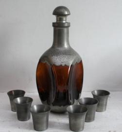 Daalderop - Karaf met zes cups