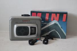 Sunnyco SL-789 Cassette speler/ Walkman Grijs - NOS