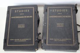 Studies van de Amsterdamsche Beurs 1933/34 en 1935/36