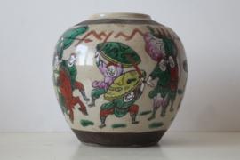 Nanking gemberpot - China - laat 19e/vroeg 20e eeuw