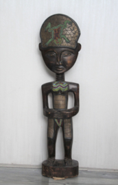 Zanzibar - Houten beeld dame
