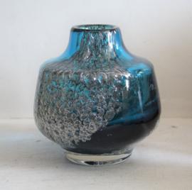Schott Zwiesel - Blauw glazen Florida vaas door Heinrich Löffelhardt #3