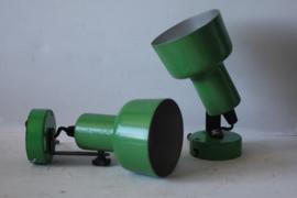Groene vintage wandspots