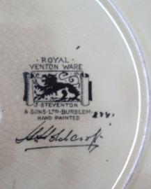 Harold Holdcroft - Royal Venton Ware - Schaal, Egyptian Revival - Art Deco