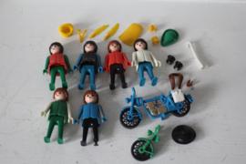 Playmobil - losse delen en poppetjes uit de jaren '70