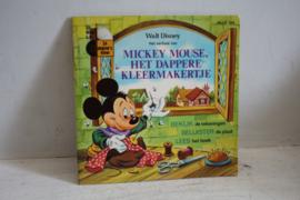 Walt Disney - Mickey Mouse, het dappere kleermakertje - Boekje en L.P.
