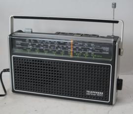 Telefunken partner 500 transistorradio - ca 1976