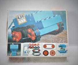 Lego 103 - 4.5 V Motor set met rubberen banden - 1969