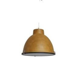 Industriële Hanglamp - Willemse - Woodlook (Wooden)