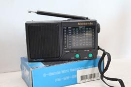 Mesonic - 8 band mini receiver (wereldontvanger)