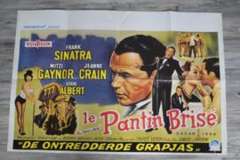 """Vintage filmposter(origineel) """"The Joker is Wild"""" met oa Frank Sinatra"""