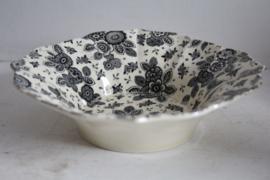 Societe Ceramique Beatrix zwart gelobd schaaltje