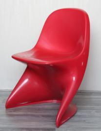 Alexander Begge voor Casala - originele 'Casalino 1' kinderstoel Rood