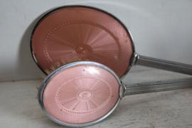 Vintage Shenstone toiletset in Art Deco - Roze