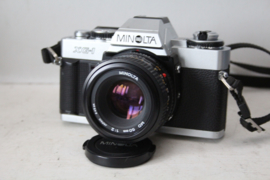 Minolta XG-1 Analoge Camera met MD 50mm lens