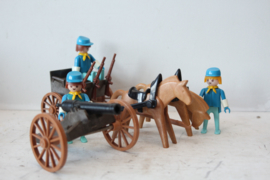 Playmobil Western - Kanon transport 3244 - 1975