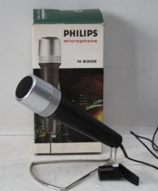 Vintage Philips N8302 Microfoon nog nieuw in doos
