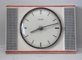 Vintage Kienzle automatic porseleinen klok