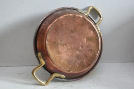 Antiek koperen confiture/jampan