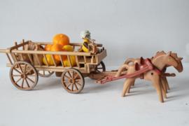 Playmobil vintage wagen met pompoenen
