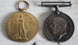 WW1 medailles - 351950 Private E Wilson