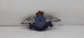 Royal Navy zilveren pin - Fleet Air Arm WWII