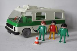 Playmobil Politie bus - 1977