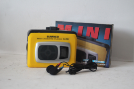Sunnyco SL-789 Cassette speler/ Walkman Geel - NOS
