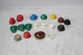 Playmobil - Losse hoeden, petten en pruiken