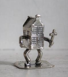 Miniatuur - Ieder huisje... C.A. Stout