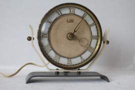 Vintage elektrisch schouw klokje - Eepe met Mehne uurwerk