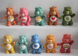 Troetelbeertjes / Care Bears 10 stuks - Kenner 1983