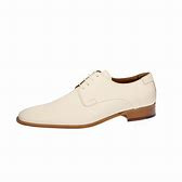 William ivory calf leather