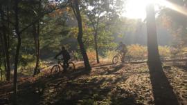 Mountainbike clinic - leren vallen