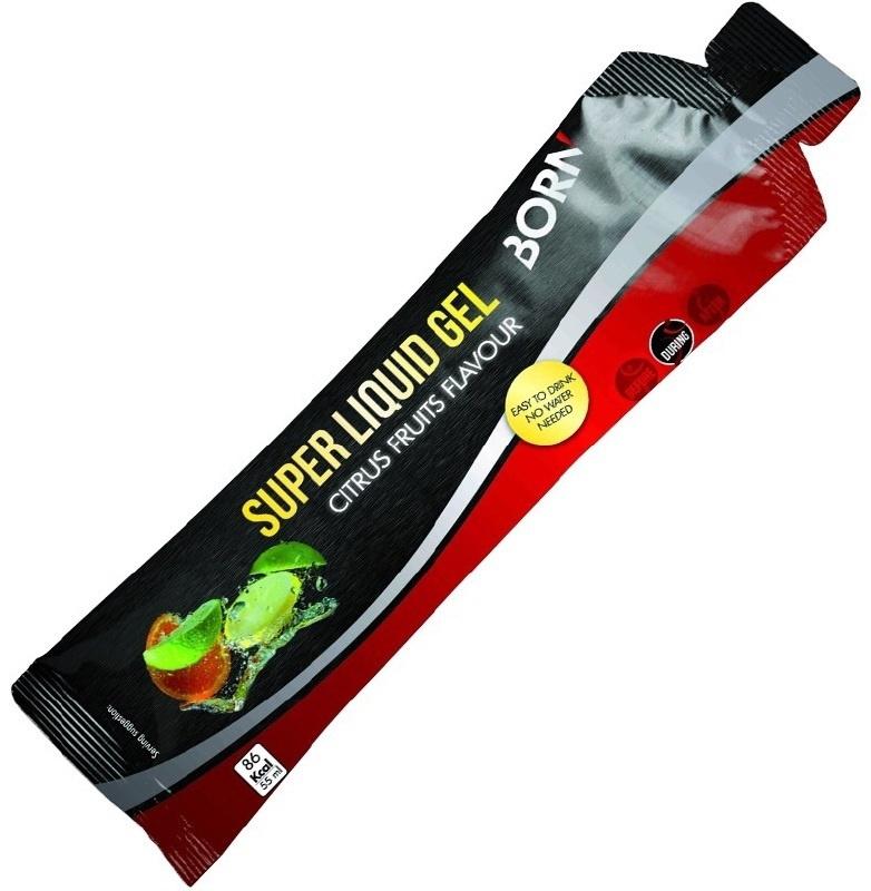 BORN | Super Liquid Gel - Citrus Fruits - Energy Gel