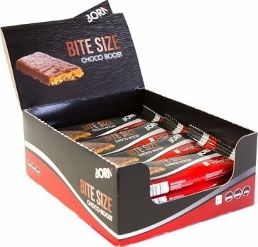 BORN | Bitesize Choco Boost - Energiereep 12 x 30 gram