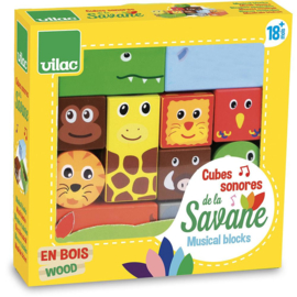 Vilac - Muzikale Blokken Savanne